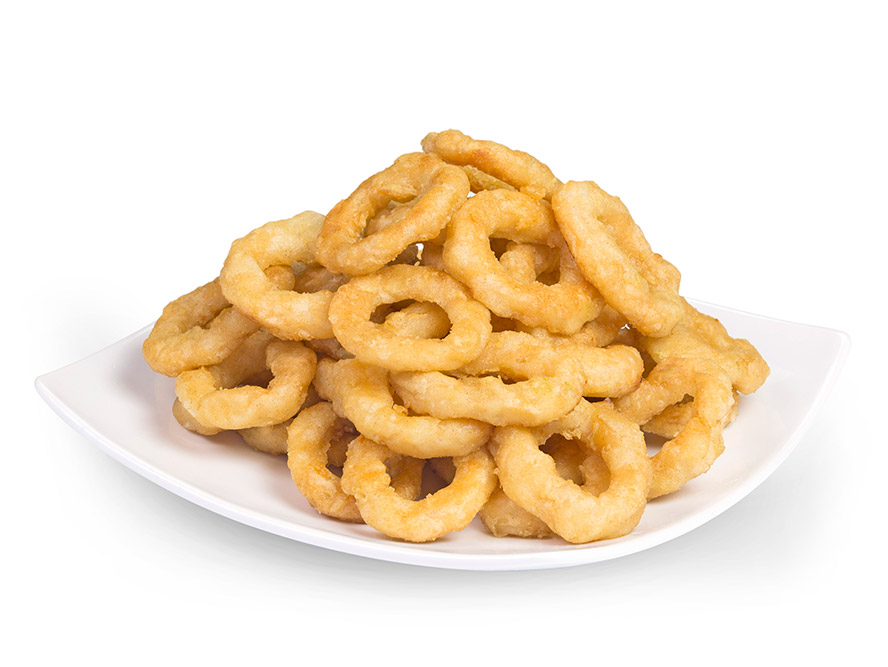 Battered-Mini-Onion-Rings